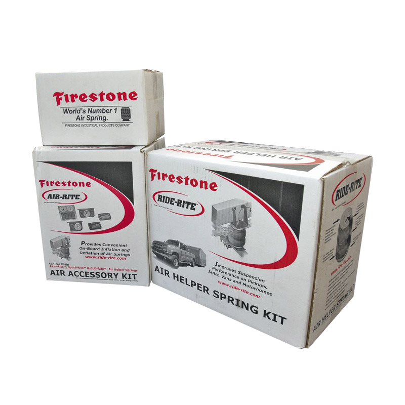 Auto Air Spring Packaging Boxes