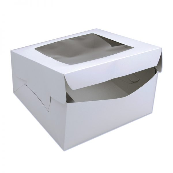 cake boxes with logo