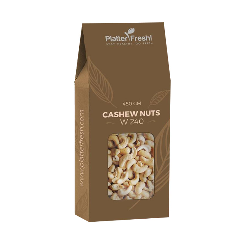 Cashew Nuts Packaging Boxes