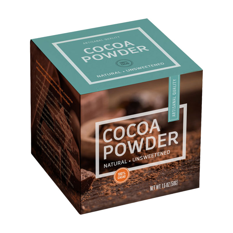 Cocoa Powder Packaging Boxes
