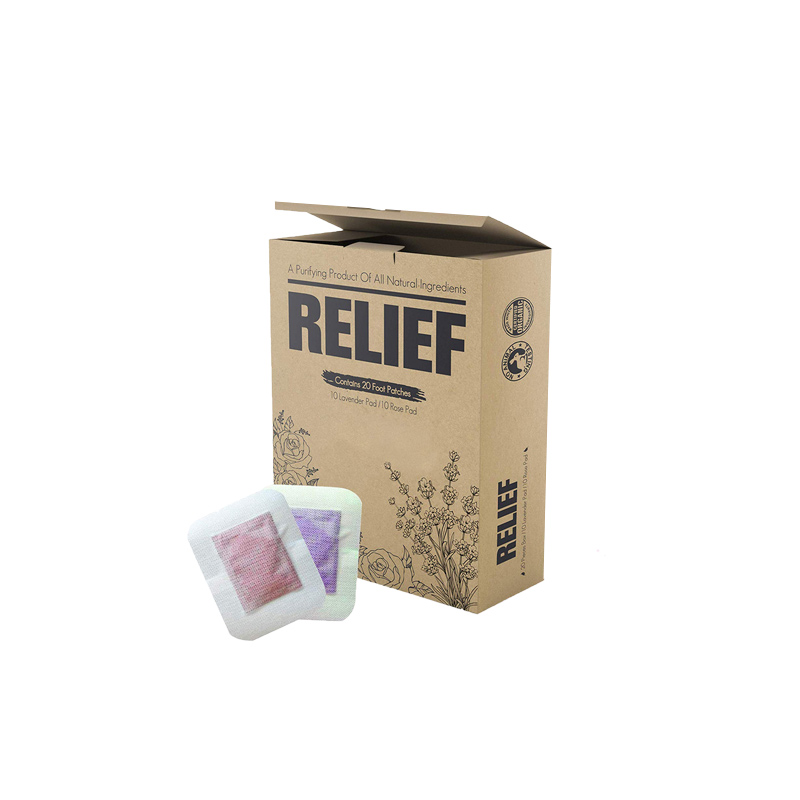 Foot Pads Packaging Boxes