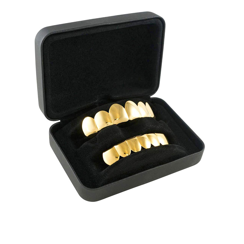 Gold Teeth Grillz Packaging Boxes