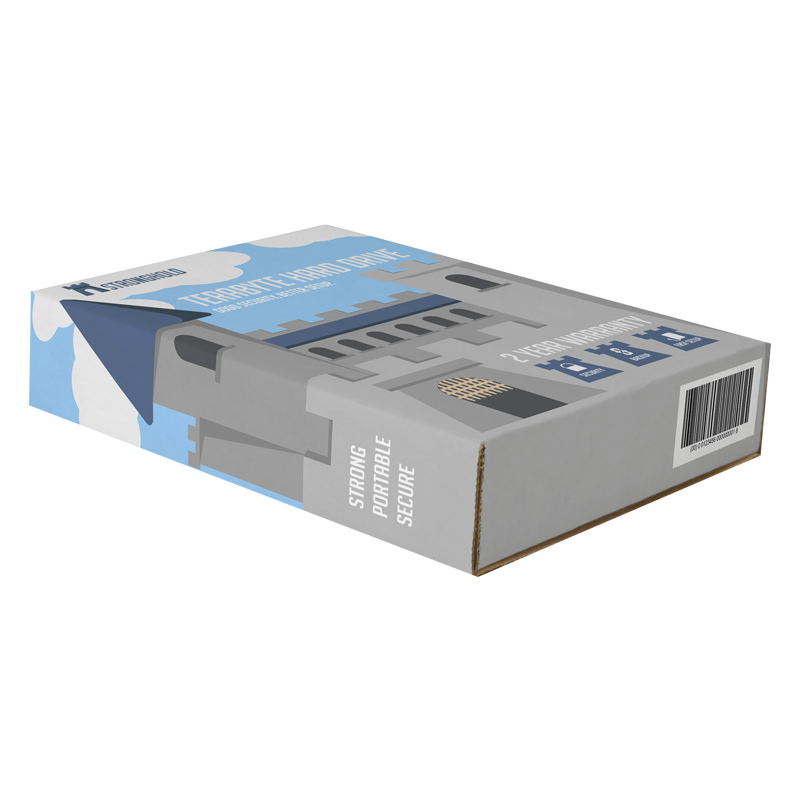 Hard Drive Packing Boxes