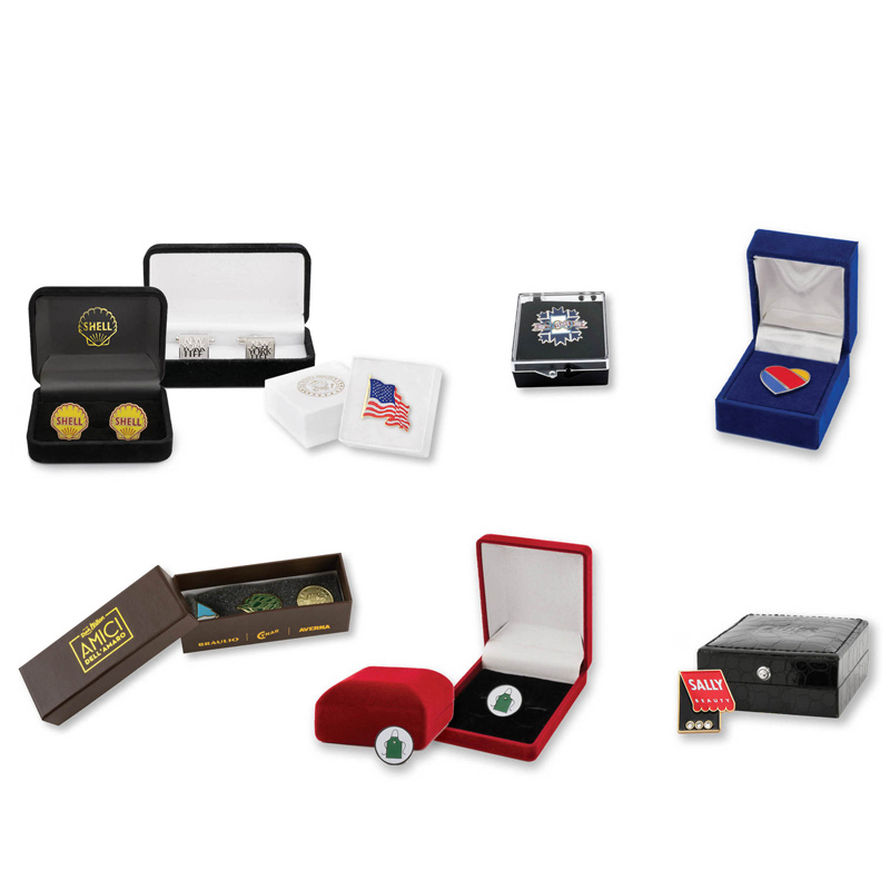 Lapel Pin Packaging Boxes