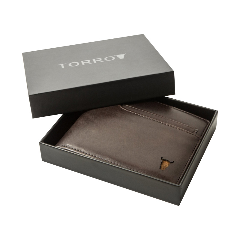 Leather Card Holder Packaging Boxes