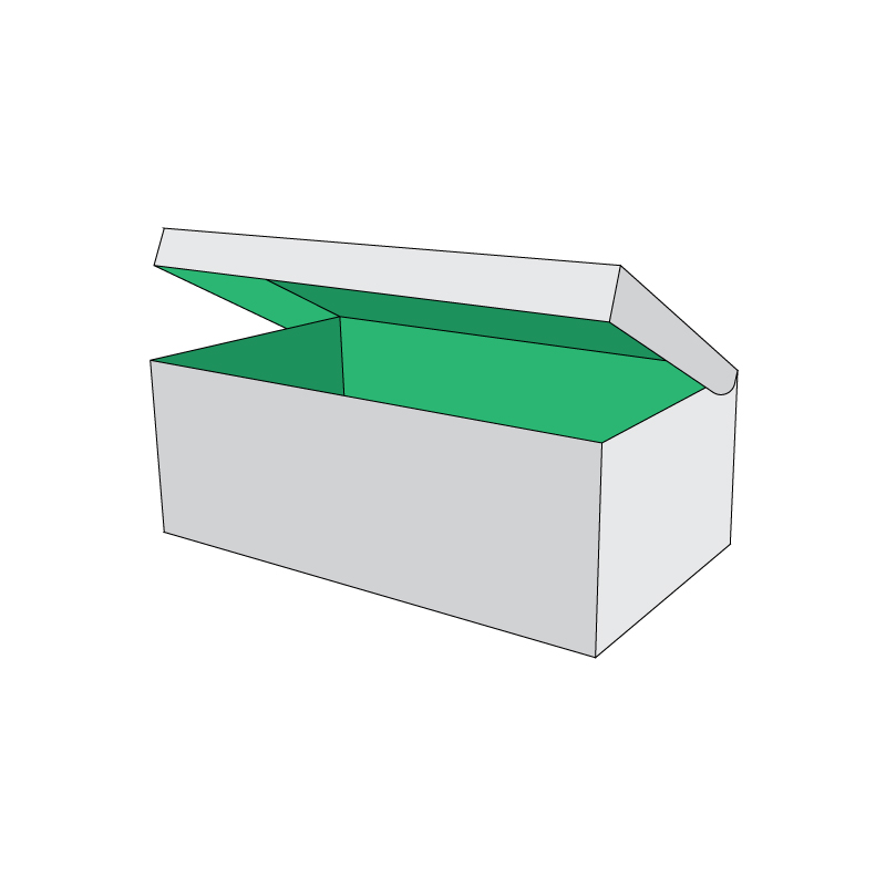 Piece Tray With Reinforced Side Lid