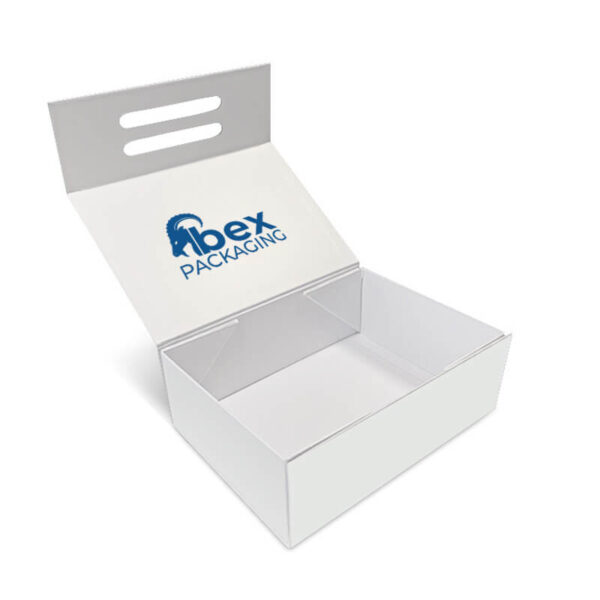 customized single color rigid boxes