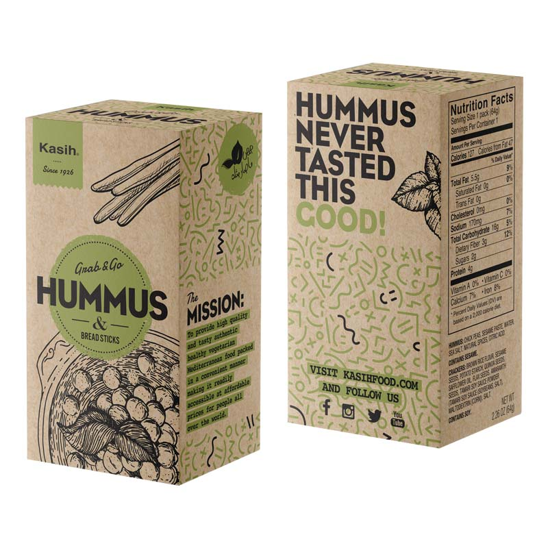 Soy Beans Packaging Boxes