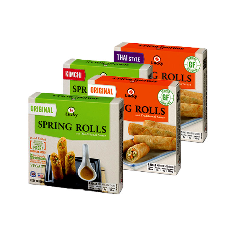 Spring Rolls Packaging Boxes