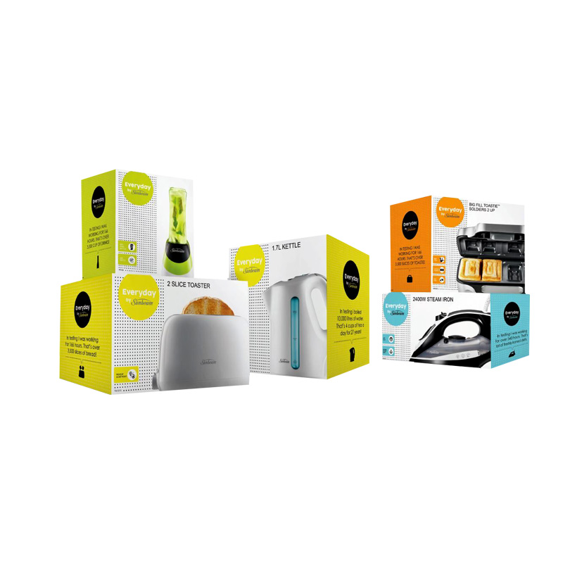 Toaster Packaging Boxes